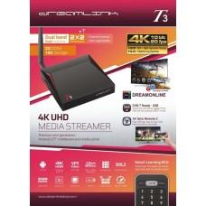 DREAMLINK T3 Ultimate 4K UHD 2GB DDR4 + 16GB | Dual band Gigabit WIFI & LAN + diablo iptv